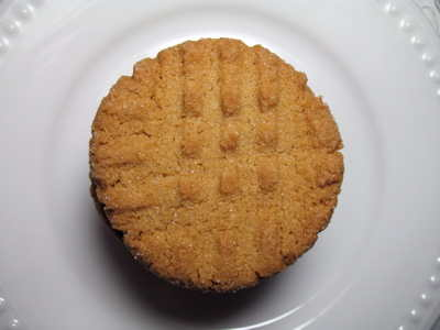 Peanut butter cookie - top